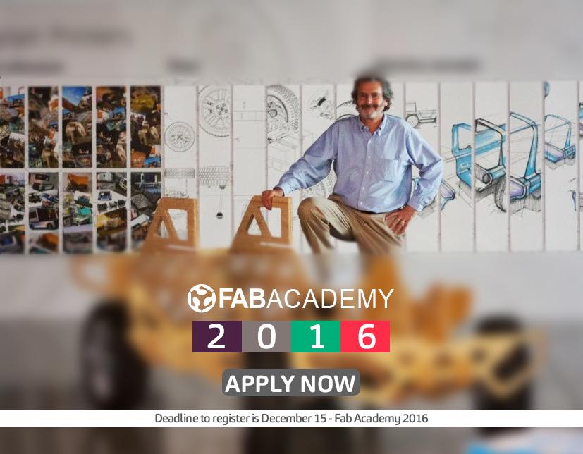 Fab Academy for første gang i Norge! Utvidet søknadsfrist!!